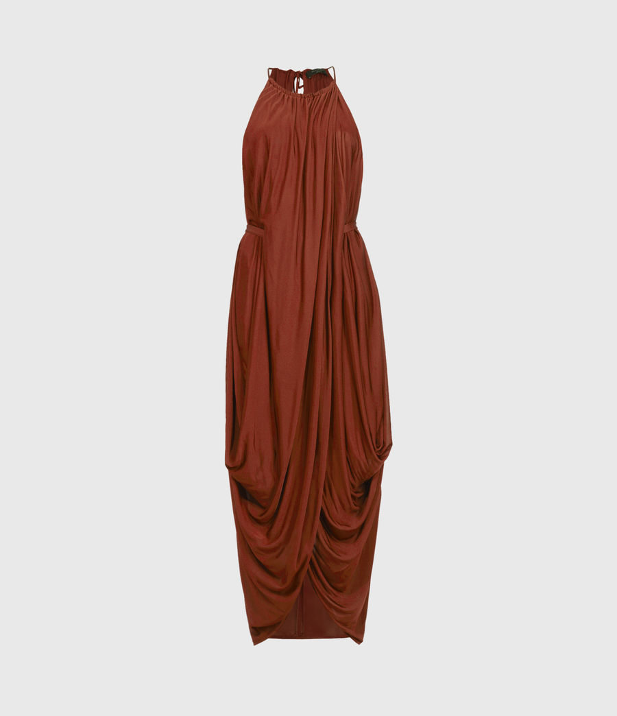 Women's Erin Dress (sun_baked_orange) - Image 1