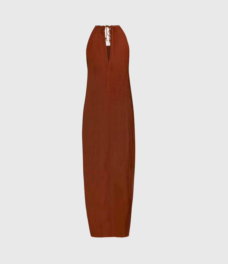 Women's Erin Dress (sun_baked_orange) - Image 2