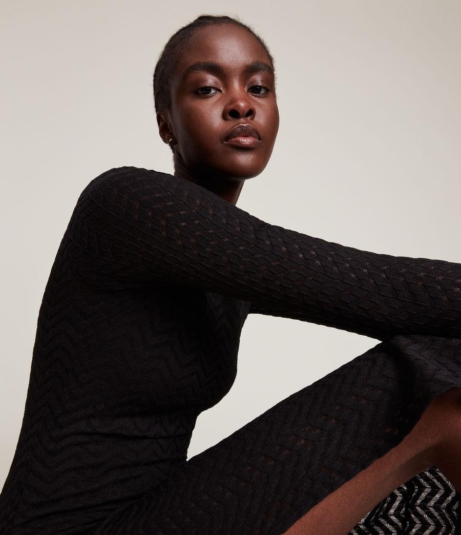 Women's Rae Lace Francesco Dress (black) - Image 2