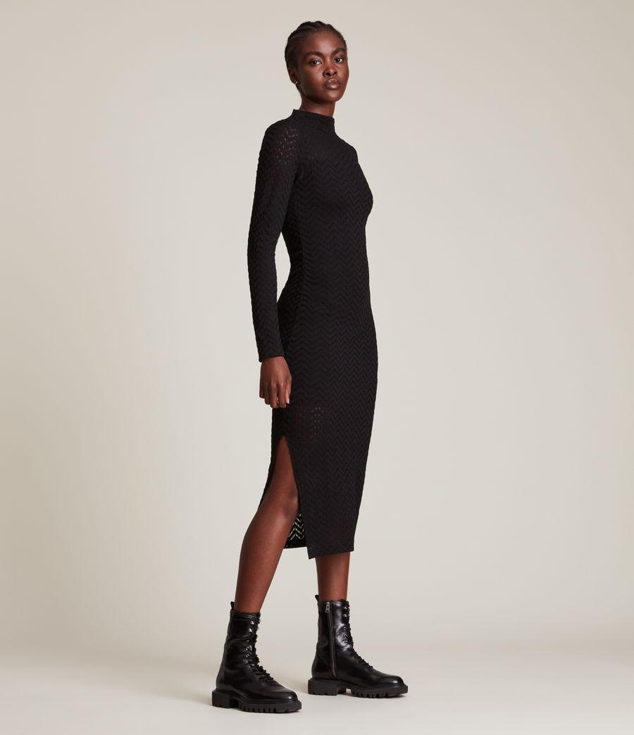 Women's Rae Lace Francesco Dress (black) - Image 3
