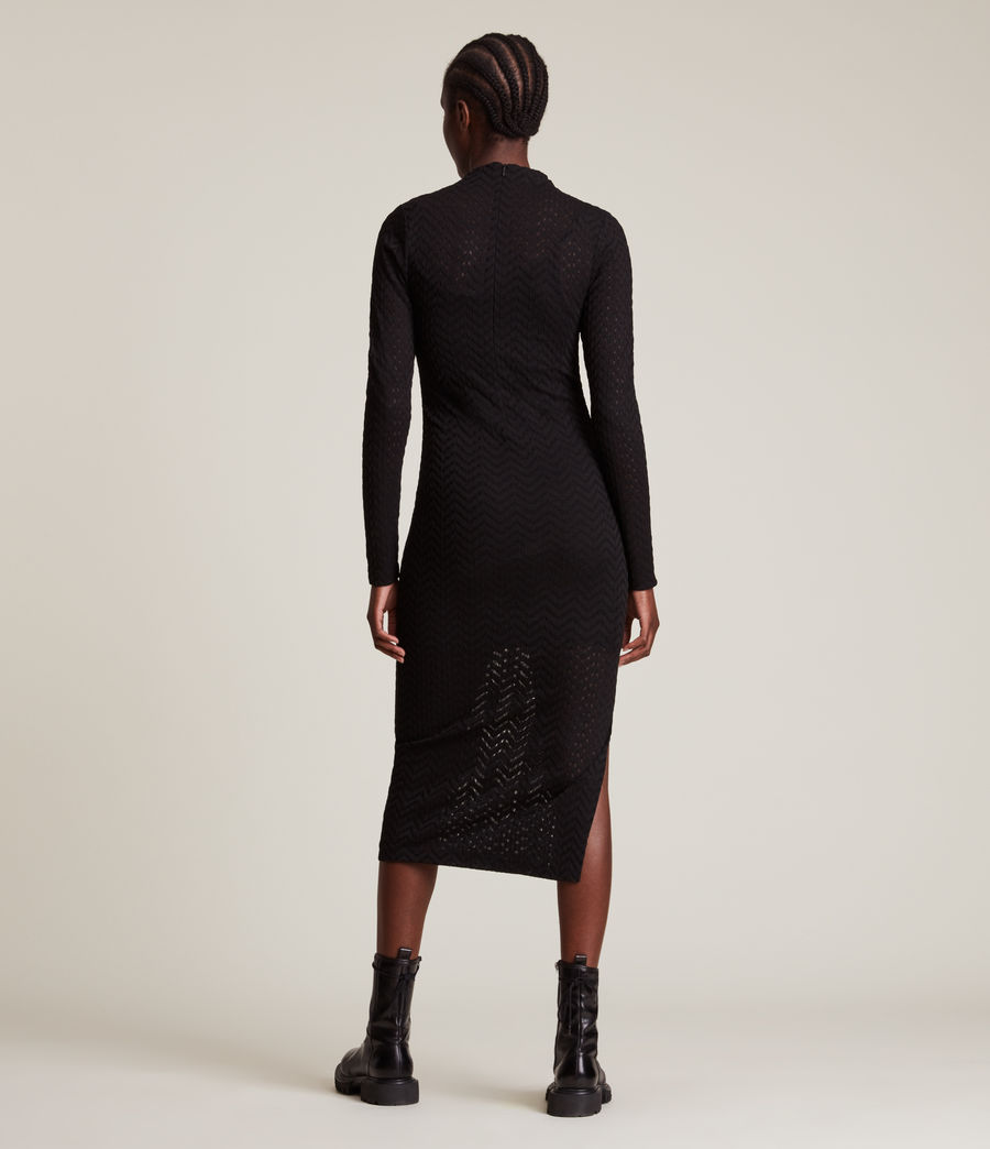 Women's Rae Lace Francesco Dress (black) - Image 5