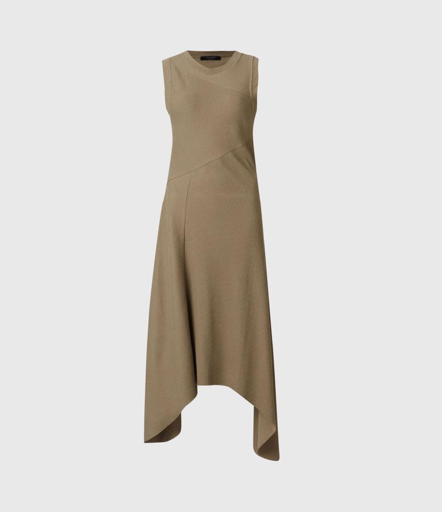 Women's Gia Dress (khaki_green) - Image 2