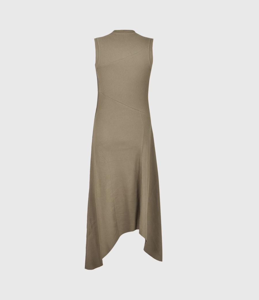 Women's Gia Dress (khaki_green) - Image 3