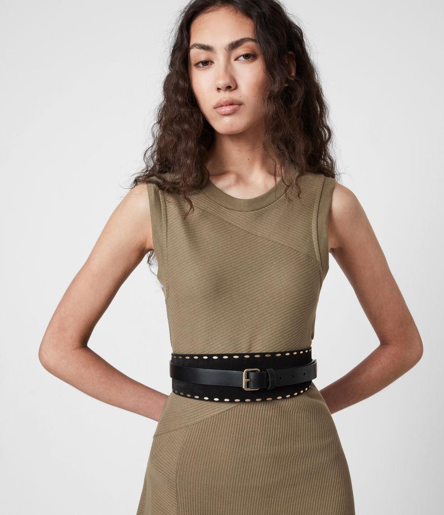 Women's Gia Dress (khaki_green) - Image 4