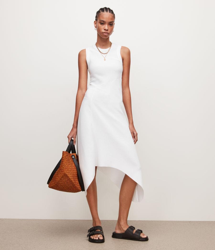 Damen Gia Kleid (optic_white) - Image 1