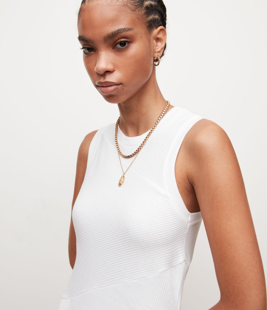 Damen Gia Kleid (optic_white) - Image 2