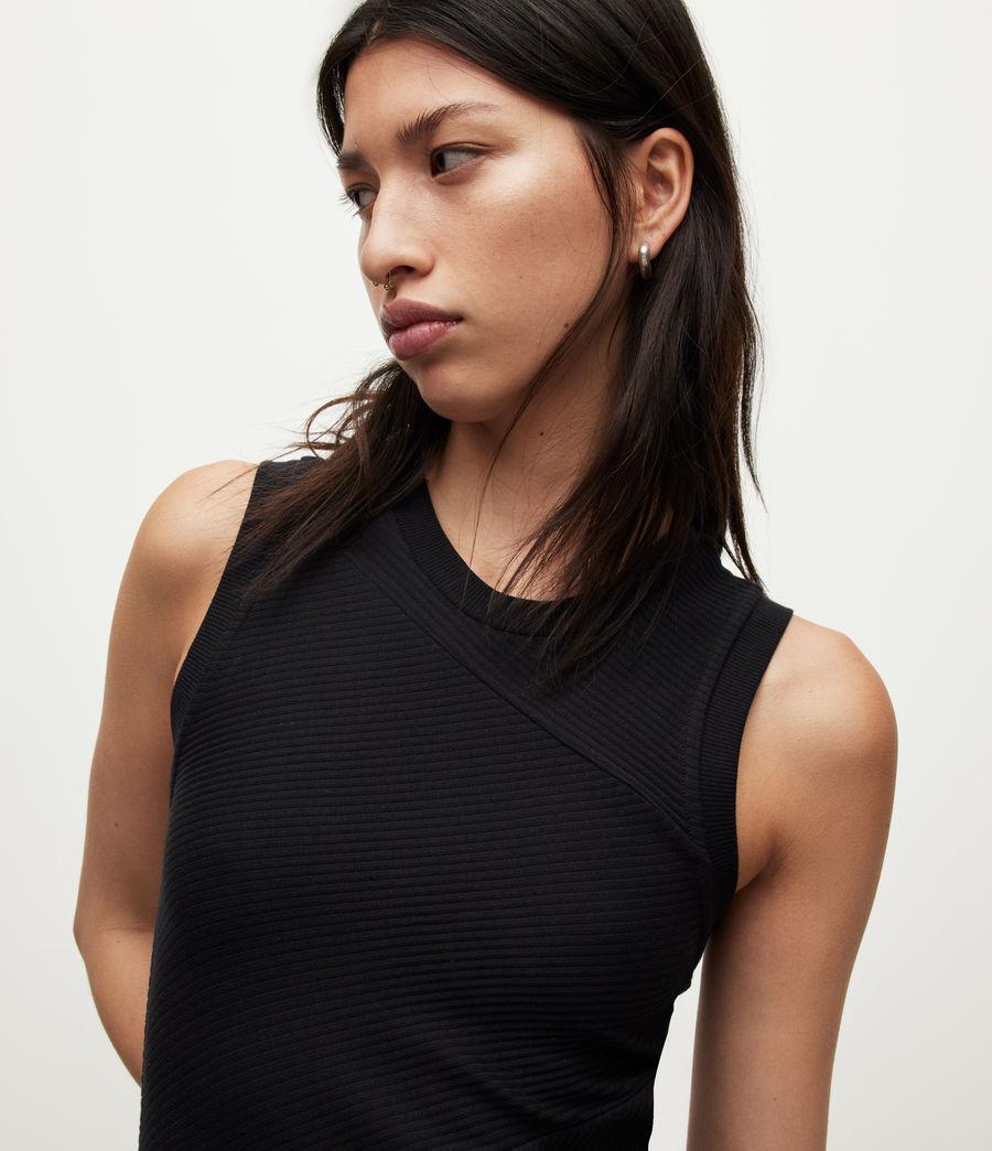 Womens Gia Dress (black) - Image 2