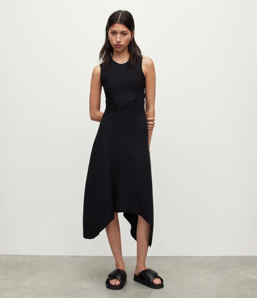 Womens Gia Dress (black) - Image 3