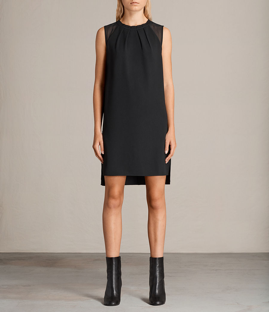 Womens Jay Dress (black) - Image 1