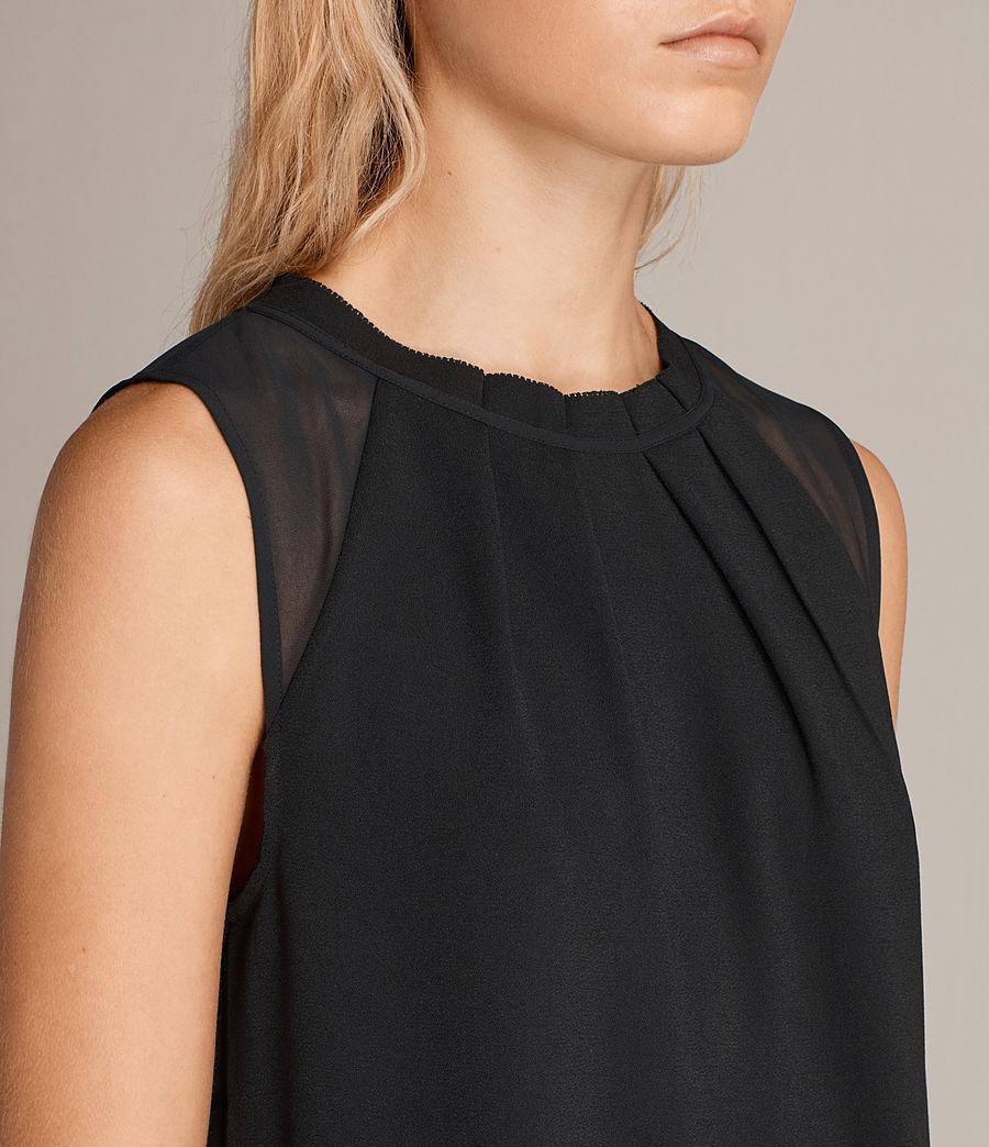 Womens Jay Dress (black) - Image 2