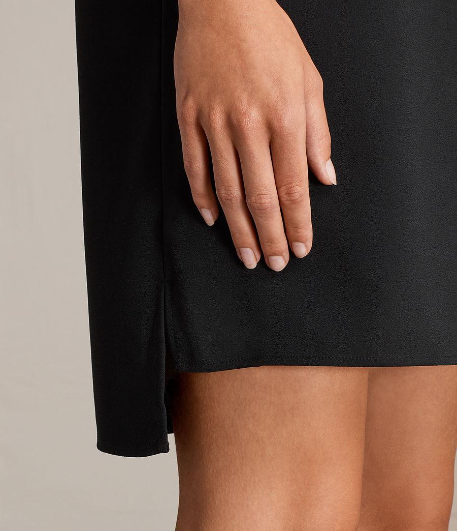 Womens Jay Dress (black) - Image 4