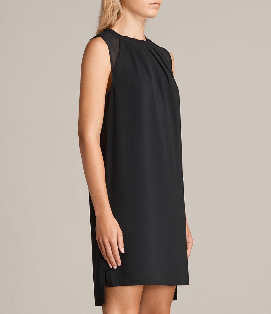 Womens Jay Dress (black) - Image 5