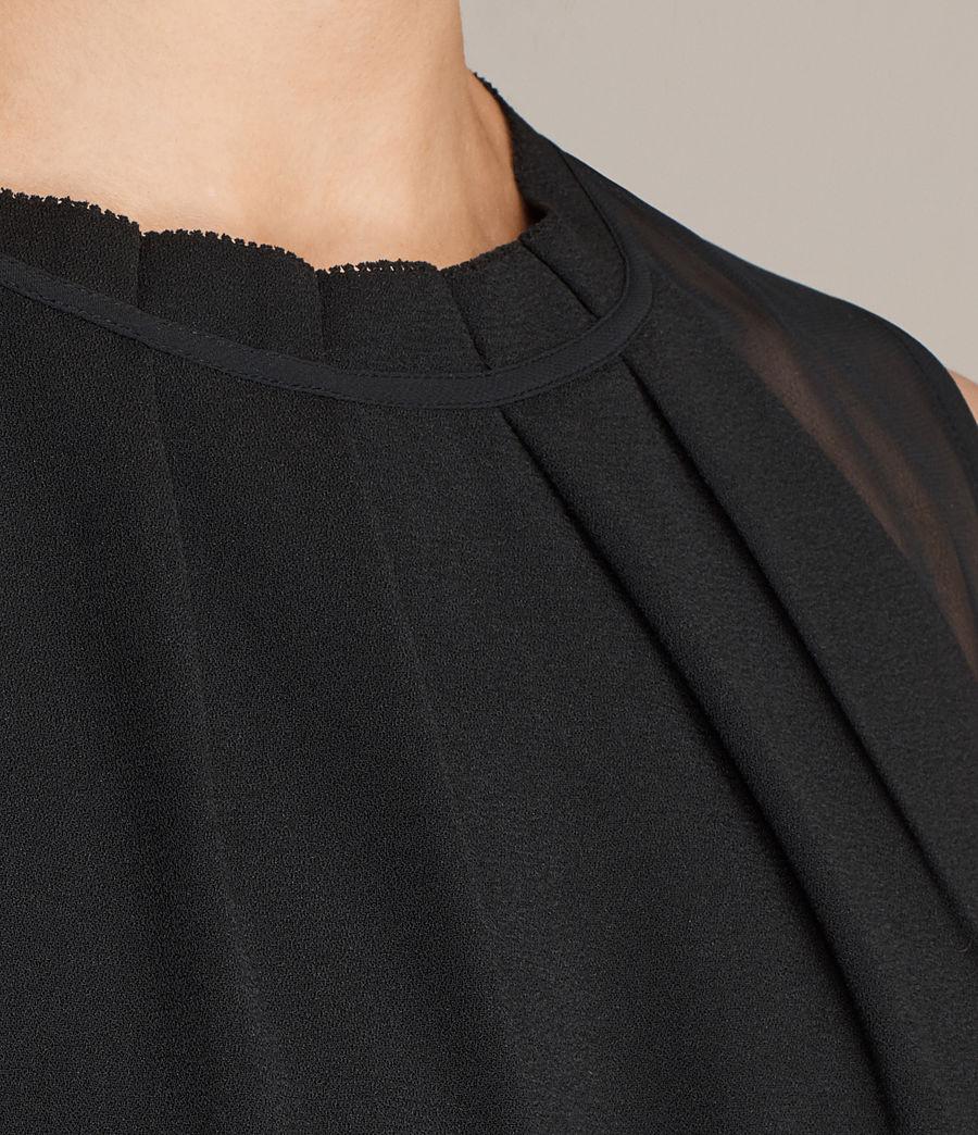 Womens Jay Dress (black) - Image 6