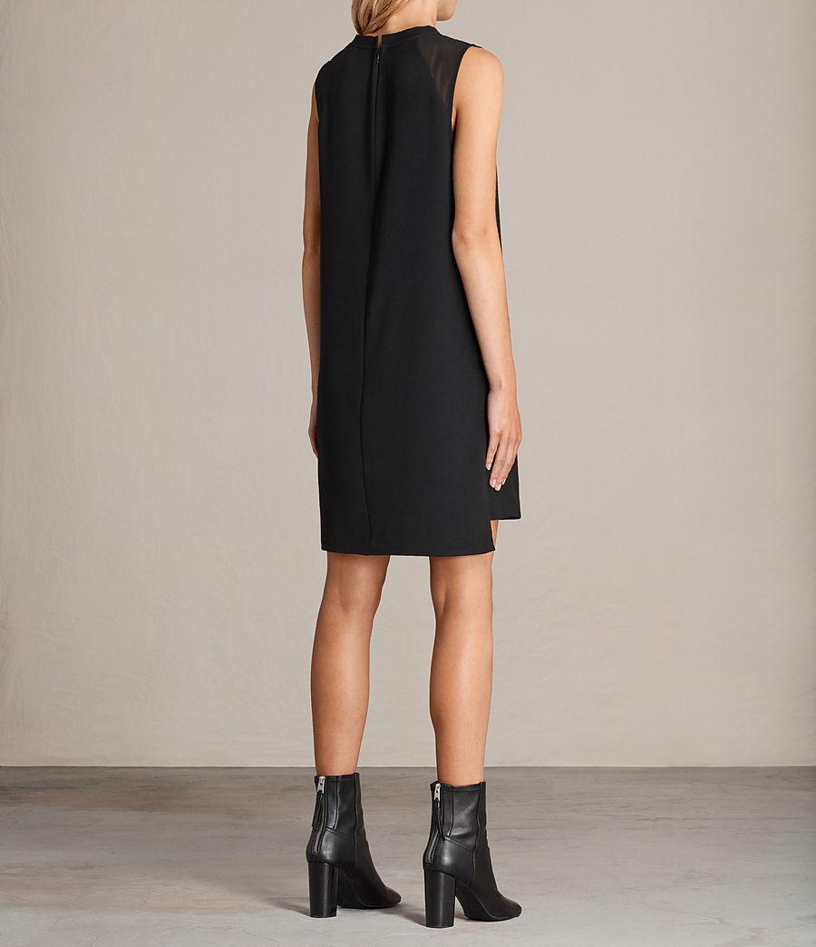 Womens Jay Dress (black) - Image 8