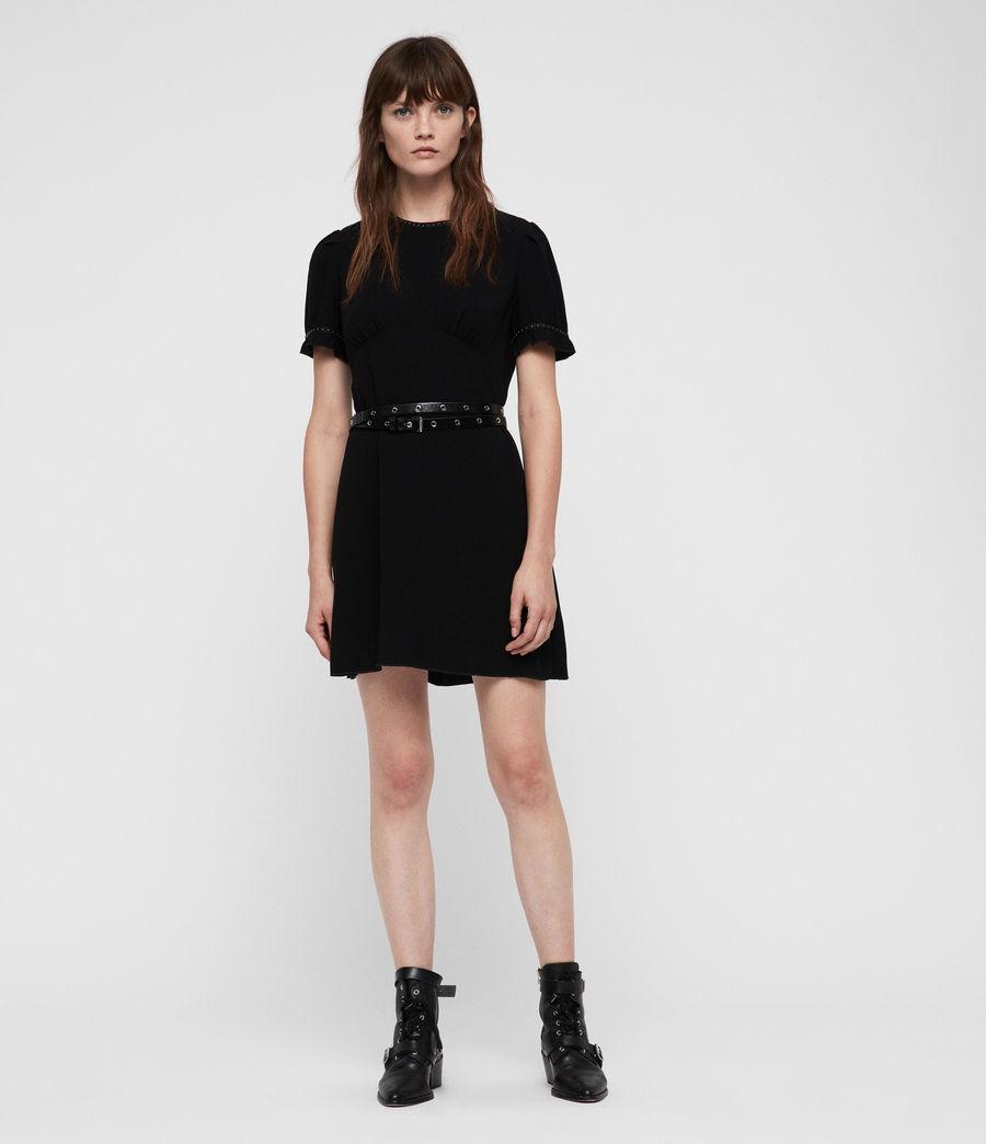 Women's Zadie Dress (black) - Image 1