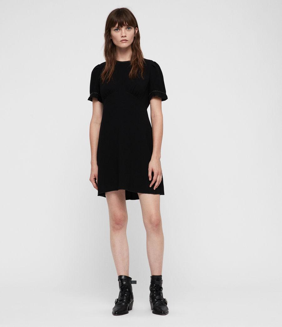 Women's Zadie Dress (black) - Image 3