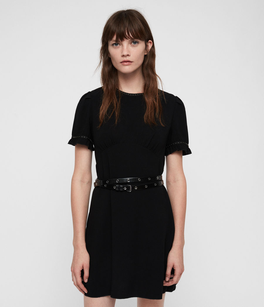 Women's Zadie Dress (black) - Image 4