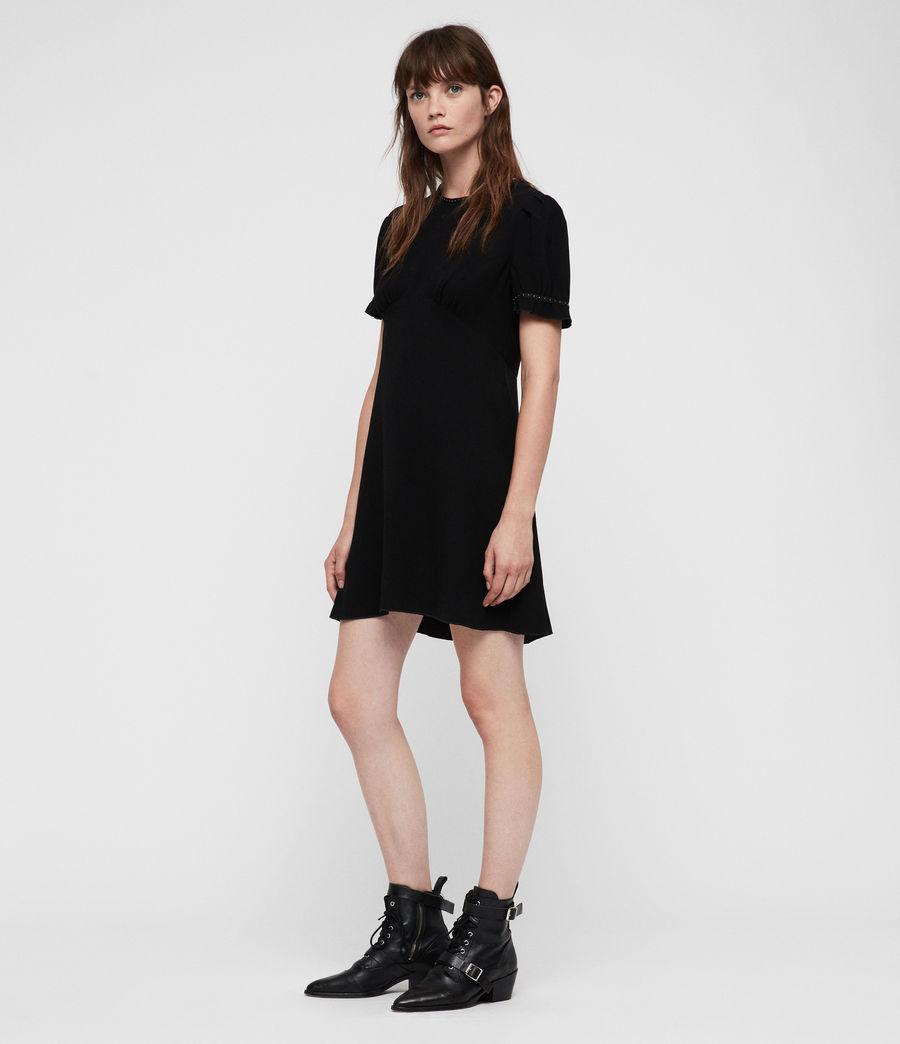 Women's Zadie Dress (black) - Image 5