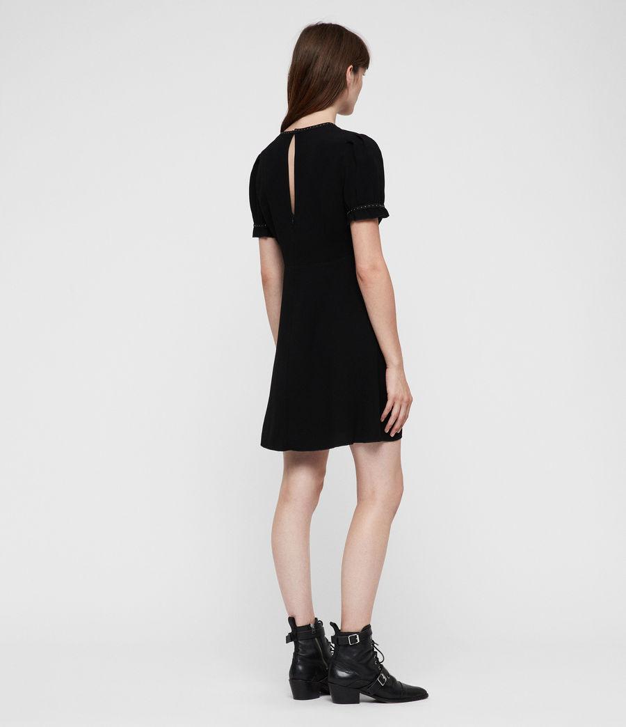 Femmes Robe Zadie (black) - Image 6