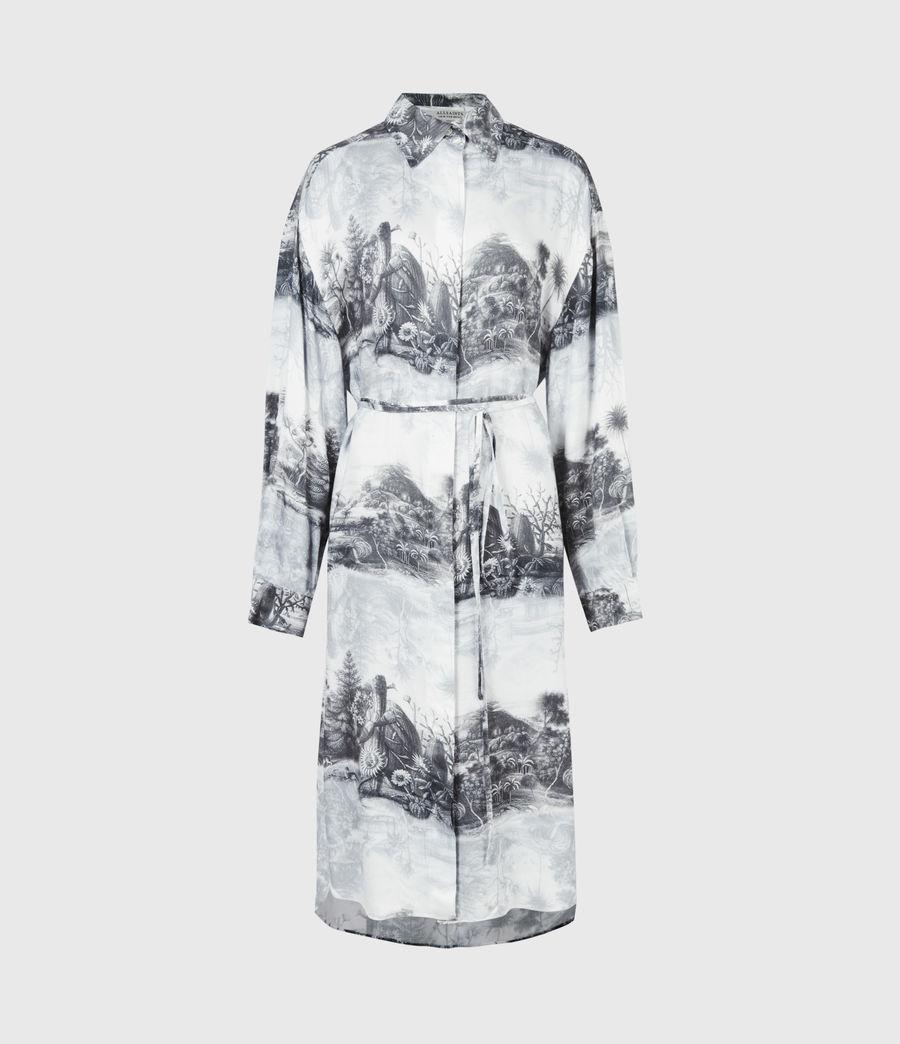 Women's Eleanor Illusio Dress (white) - Image 2