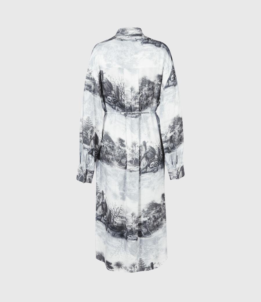 Women's Eleanor Illusio Dress (white) - Image 3