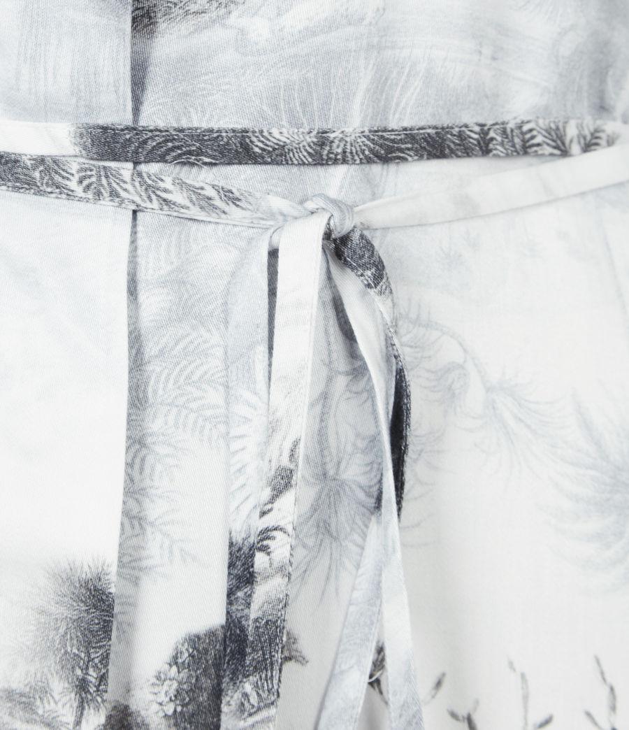 Women's Eleanor Illusio Dress (white) - Image 6