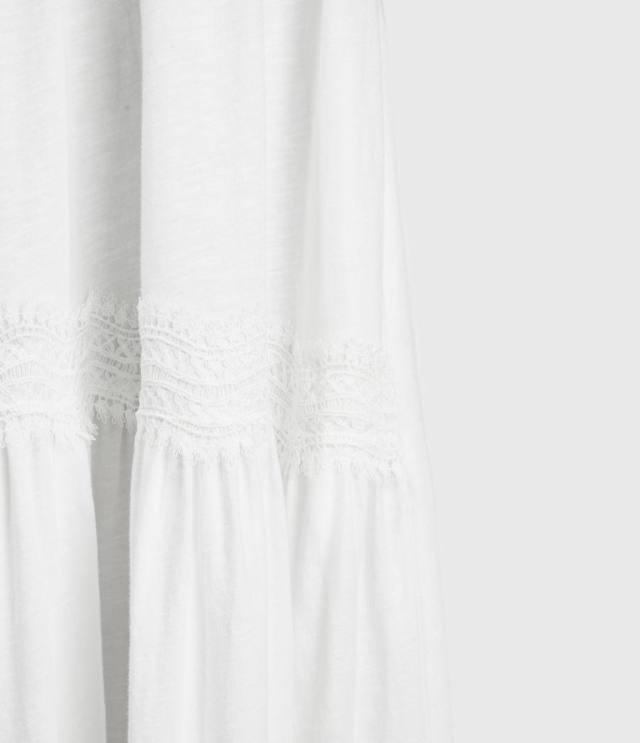 Womens Tier Dress (chalk_white) - Image 6