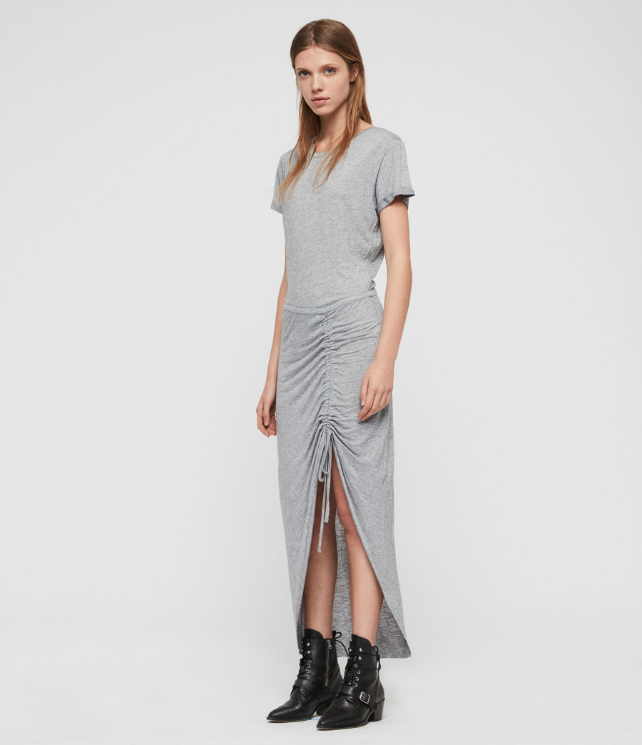 Womens Filor Dress (grey_marl) - Image 1