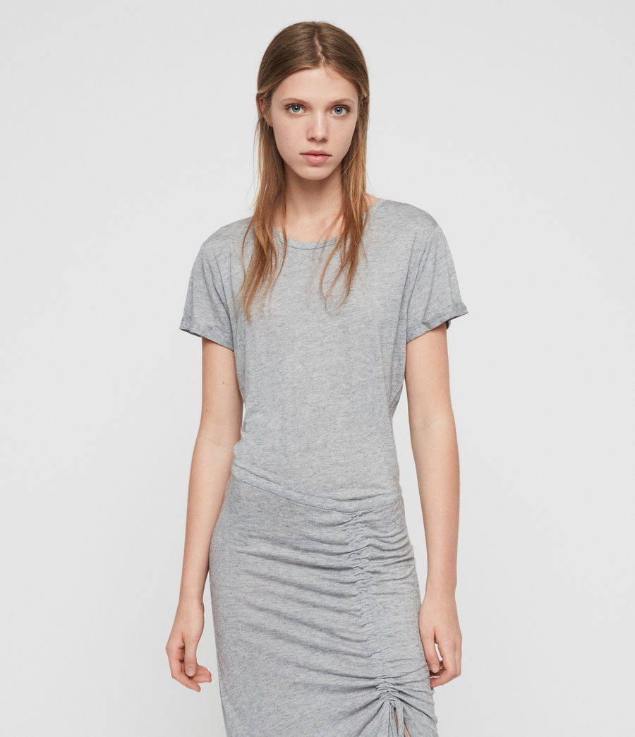 Damen Filor Kleid (grey_marl) - Image 2