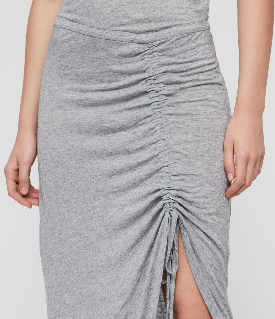 Womens Filor Dress (grey_marl) - Image 4
