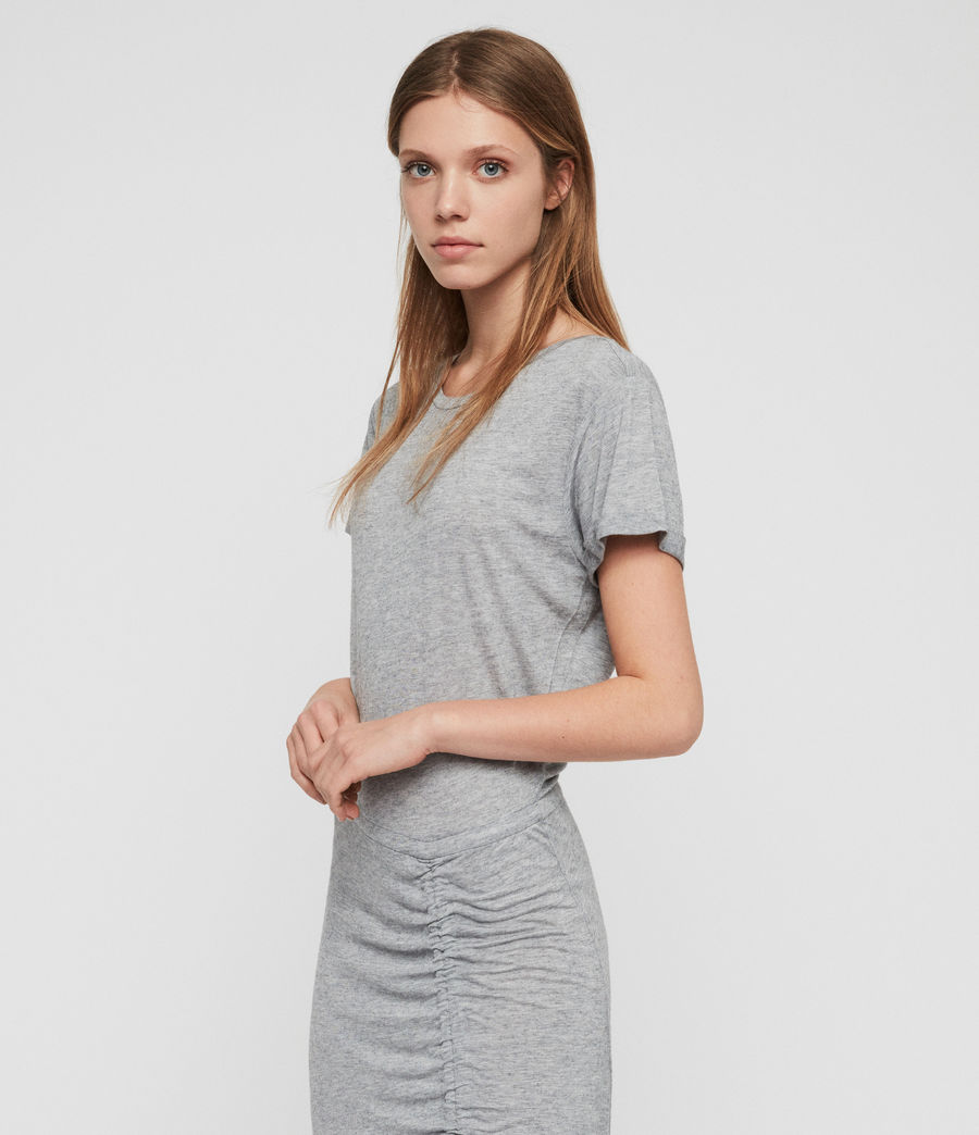 Womens Filor Dress (grey_marl) - Image 5