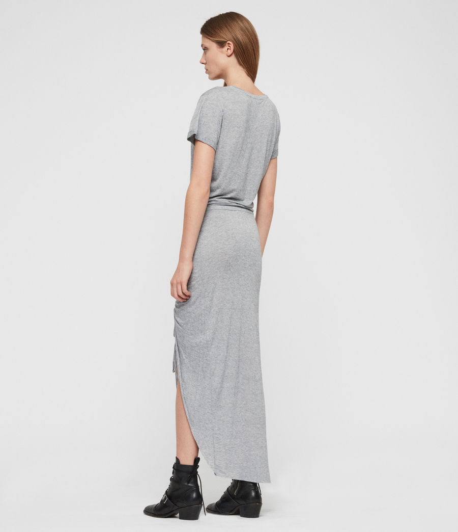 Womens Filor Dress (grey_marl) - Image 6