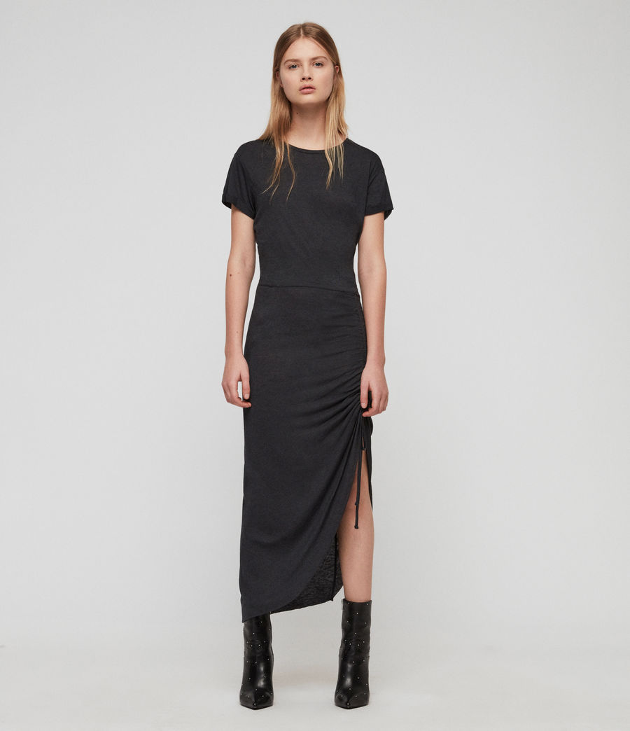 Damen Filor Kleid (washed_black) - Image 1