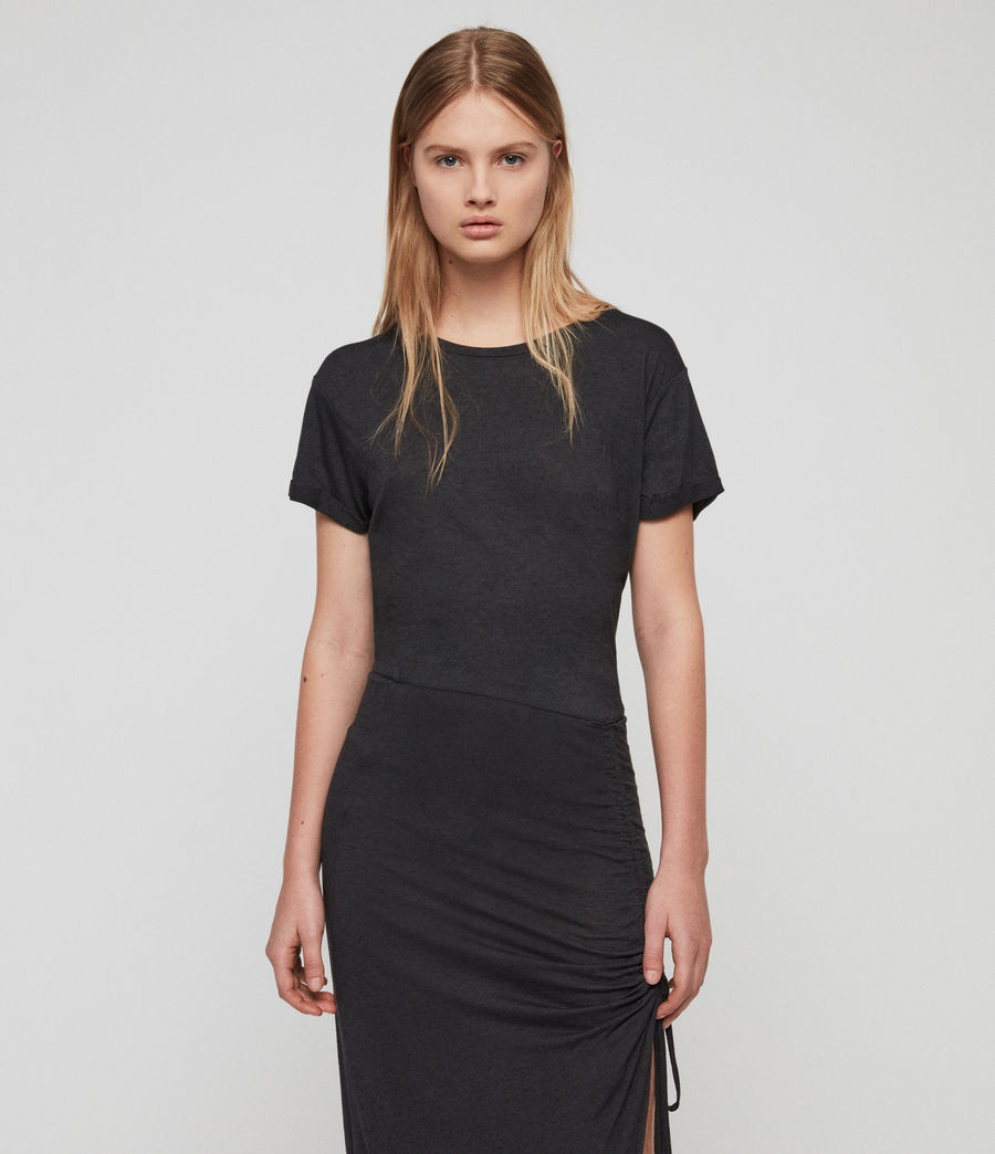 Damen Filor Kleid (washed_black) - Image 2