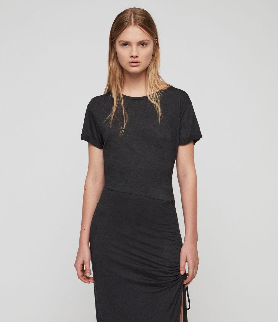 Womens Filor Dress (washed_black) - Image 2