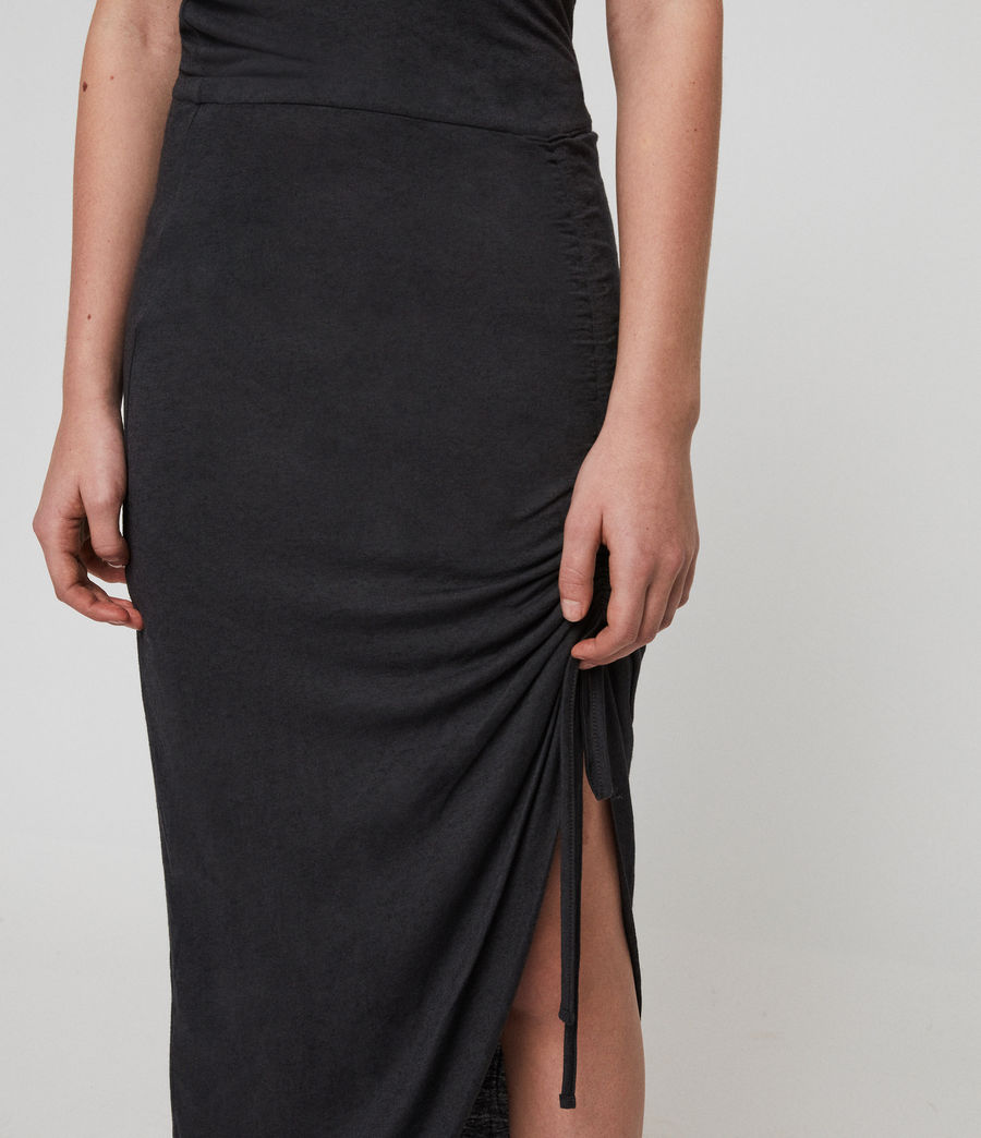 Damen Filor Kleid (washed_black) - Image 3