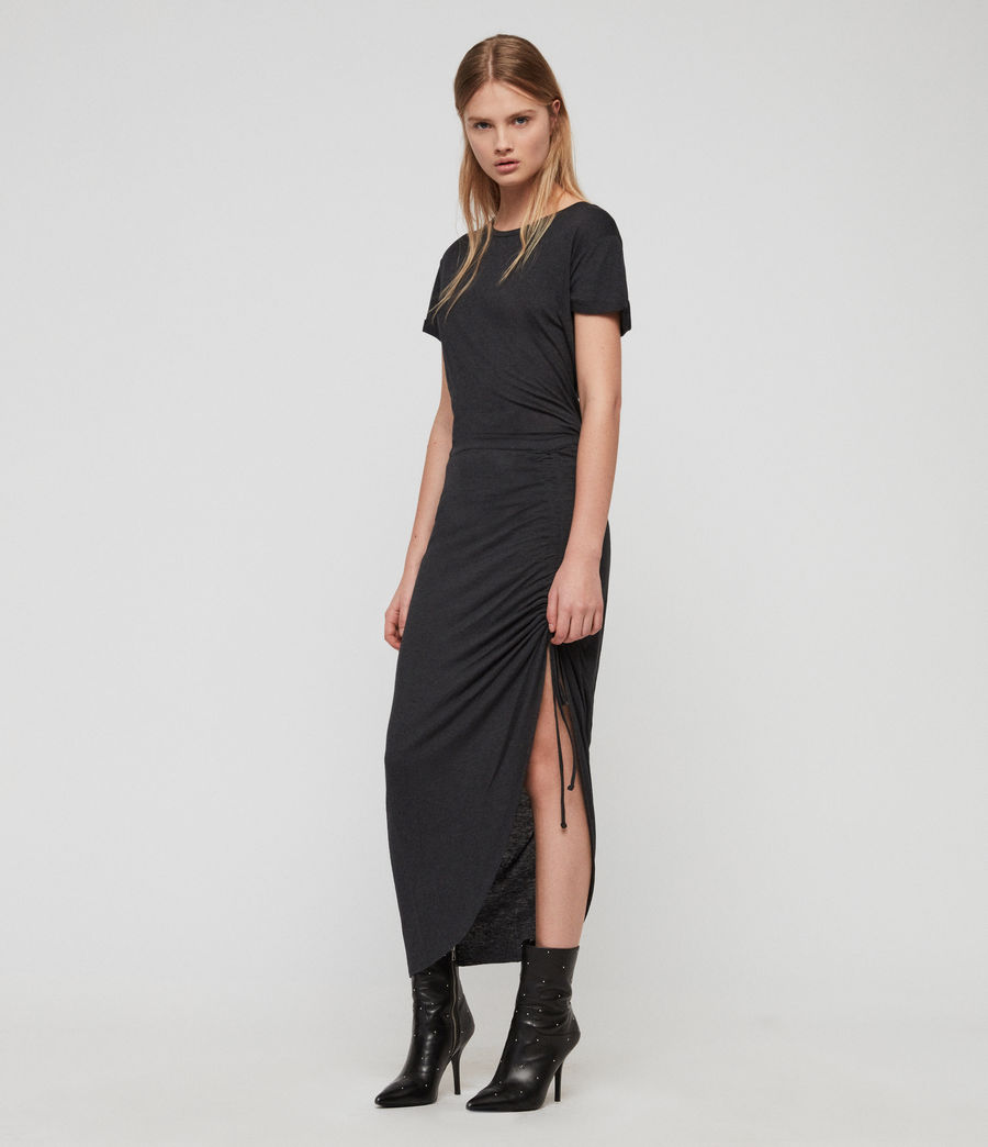 Damen Filor Kleid (washed_black) - Image 4