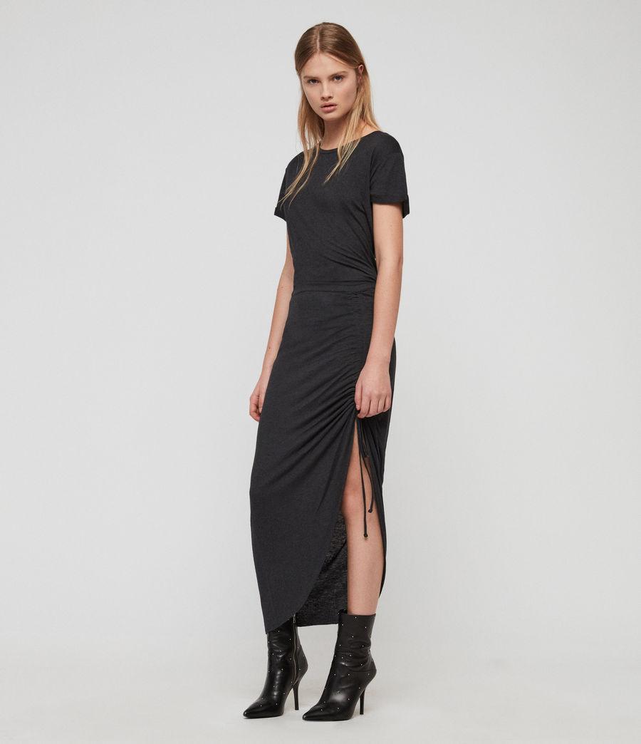 Womens Filor Dress (washed_black) - Image 4