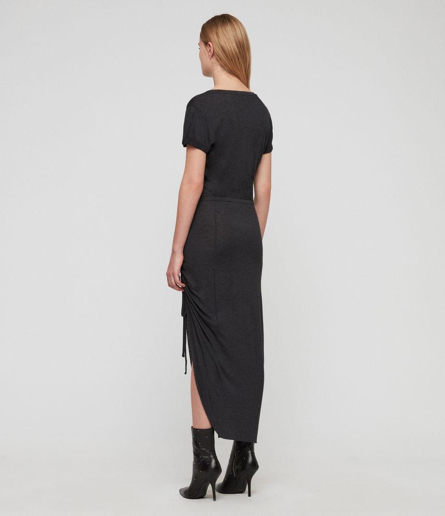 Womens Filor Dress (washed_black) - Image 5