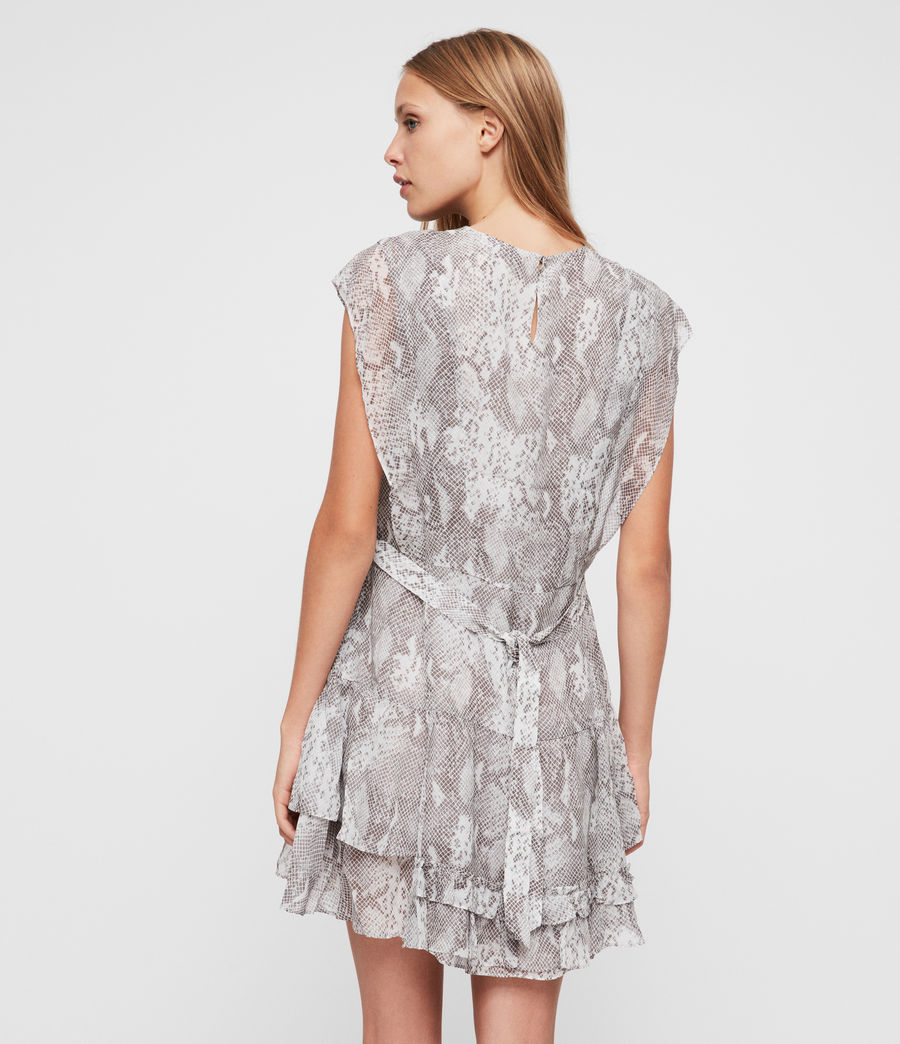 Women's Evely Snake Dress (pale_grey) - Image 4