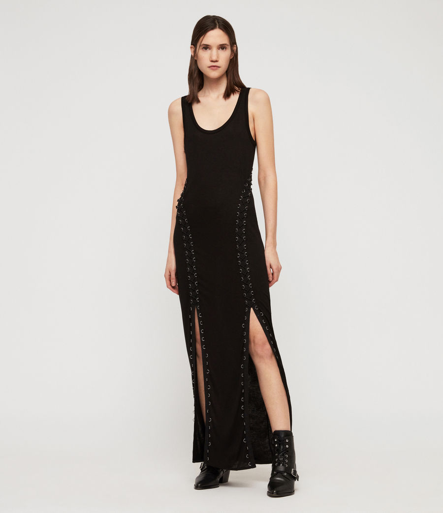 Women's Daner Dress (black) - Image 1