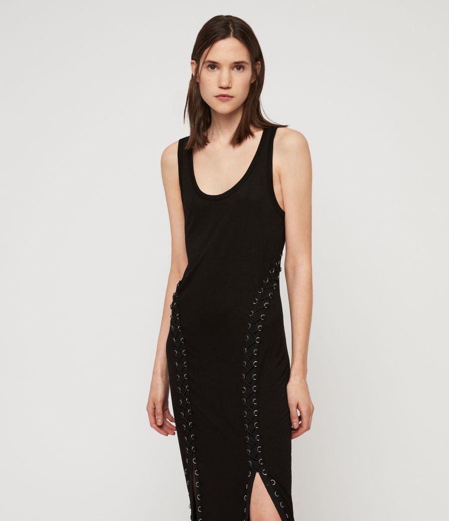 Women's Daner Dress (black) - Image 2