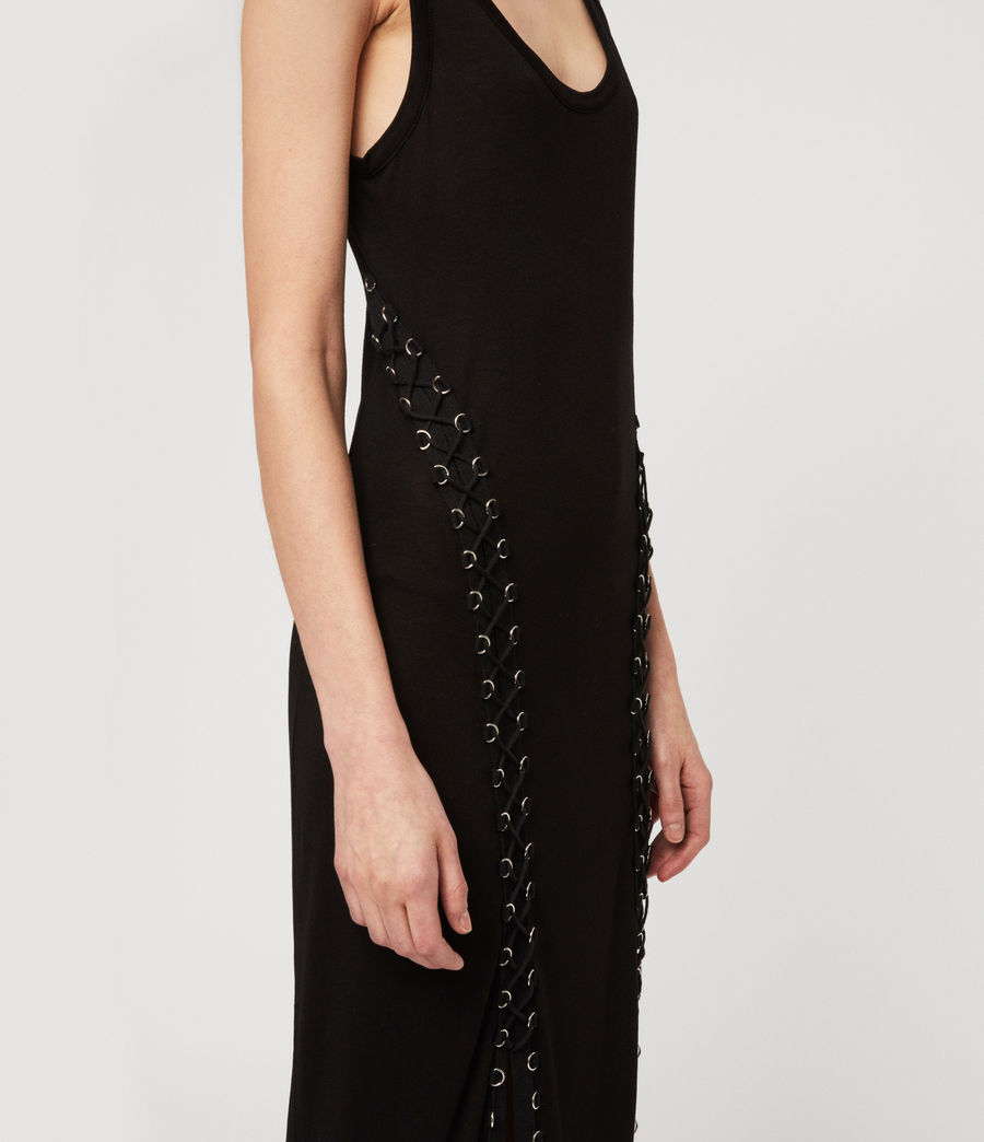 Womens Daner Dress (black) - Image 3