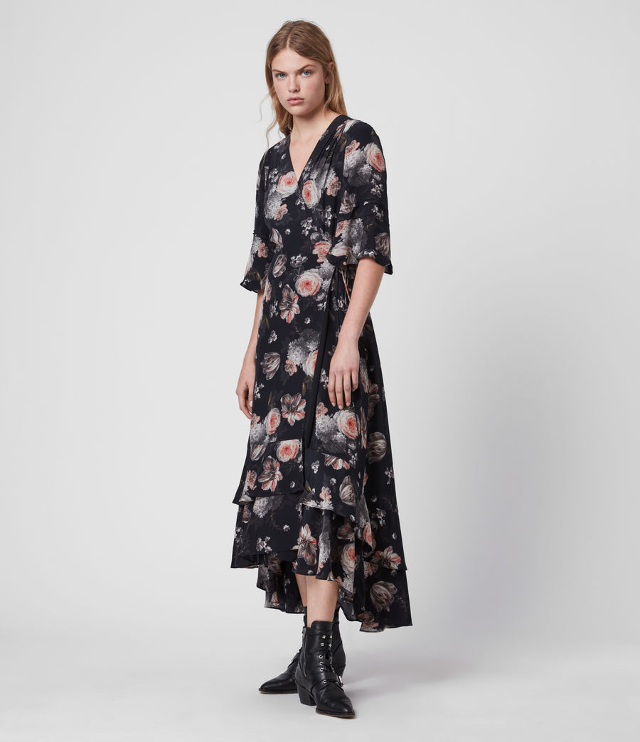 Damen Delana Eden Dress (black) - Image 3