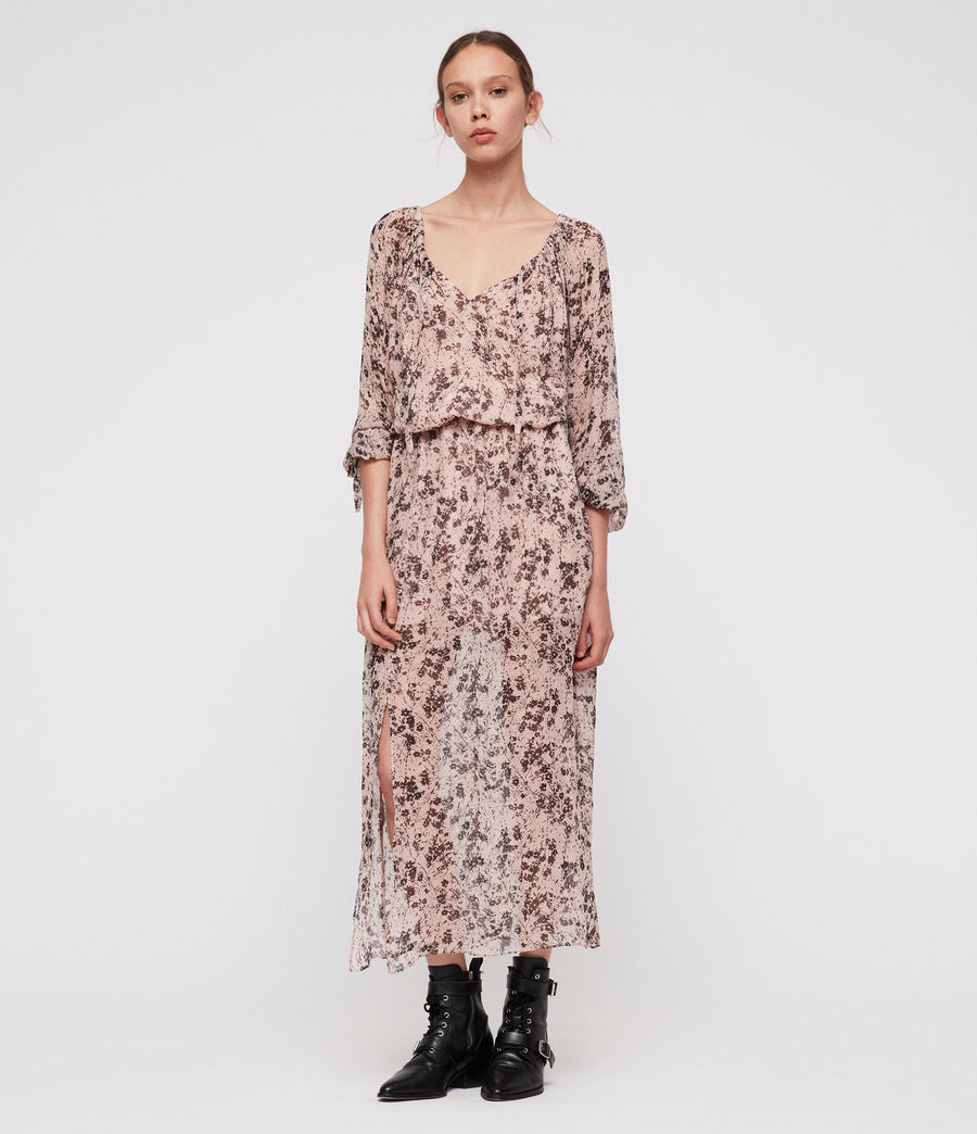 Womens Chesca Petal Maxi Dress (pale_pink) - Image 1