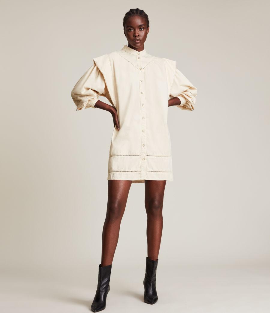 Damen Elena Denim Dress (natural_white) - Image 1