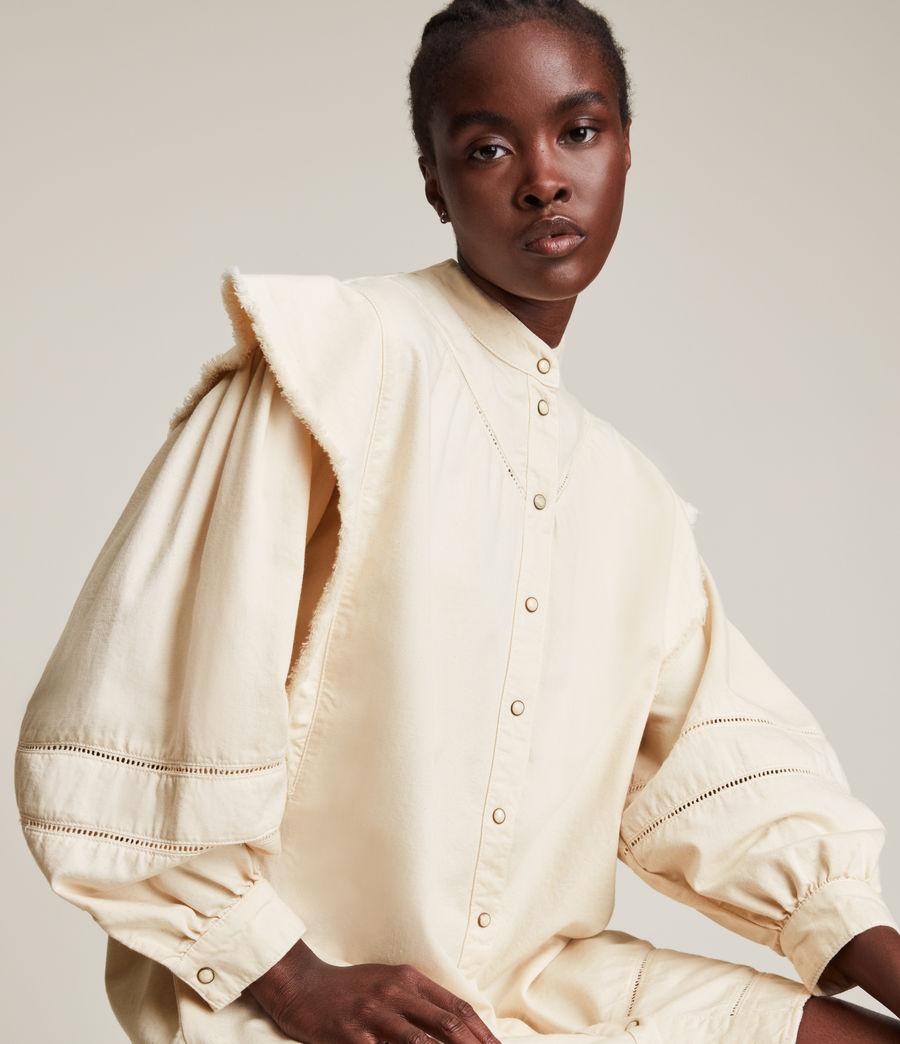 Damen Elena Denim Dress (natural_white) - Image 2