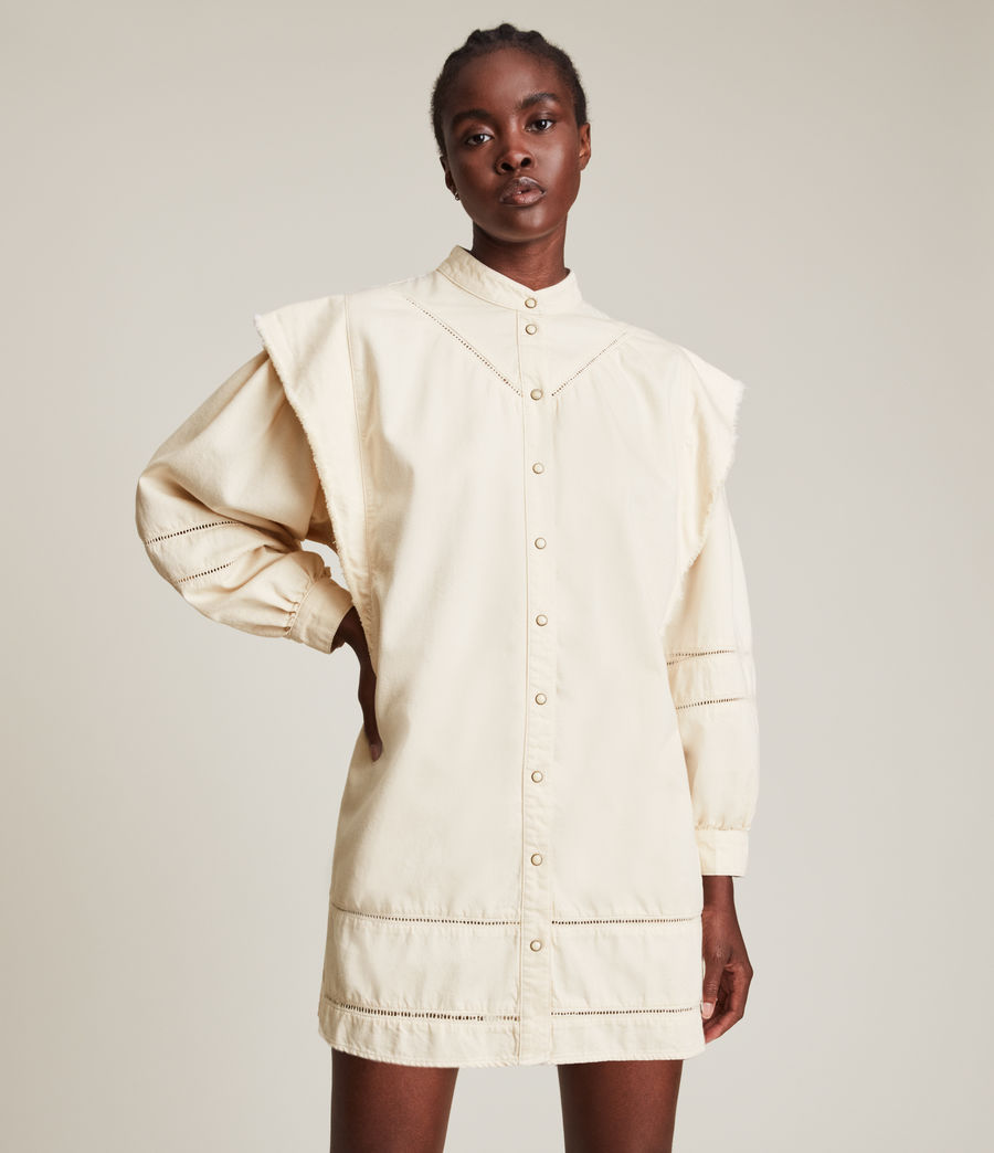 Damen Elena Denim Dress (natural_white) - Image 3