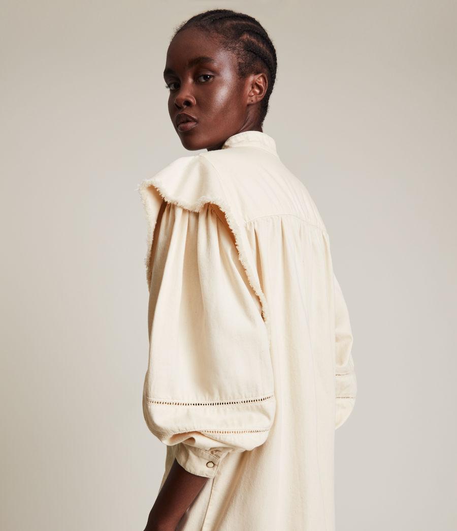 Damen Elena Denim Dress (natural_white) - Image 4