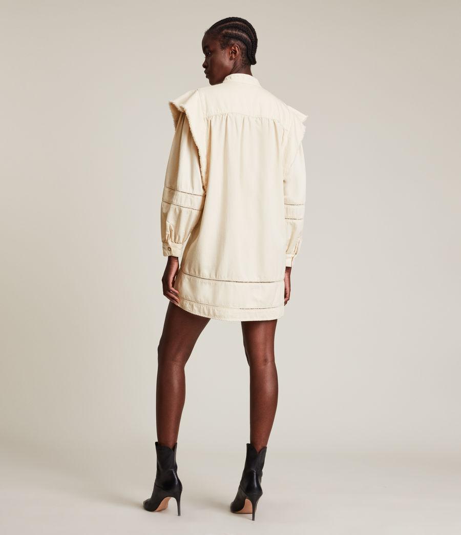 Damen Elena Denim Dress (natural_white) - Image 5